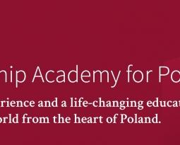 Rusza Aplikacja do III edycji Leadership Academy for Poland